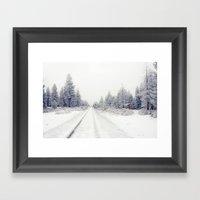 Bend Blizzard Framed Art Print
