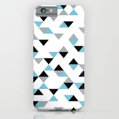 Triangles Ice Blue Slim Case iPhone 6s