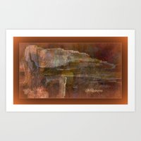 The Tomb Of The Ancient kings by Sherri Of Palm Springs Art Print