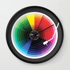 Pantune - The Color Of S… Wall Clock