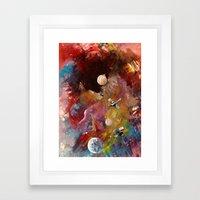 Yeryüzünün Dışında Framed Art Print