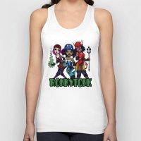 RonkyTonk Halloween Roller Derby Shirt Unisex Tank Top