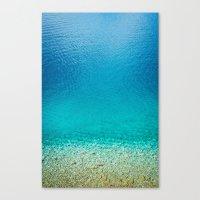 turquoise II. Canvas Print