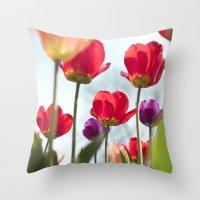 Tulip Series 5 Throw Pillow