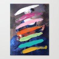 Composition 505 Canvas Print