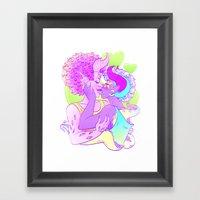 Be Together Framed Art Print