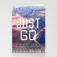 JUST GO Stationery Cards