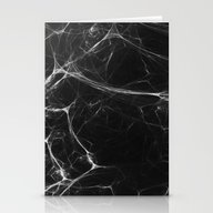 Absolute Black Marble Ed… Stationery Cards