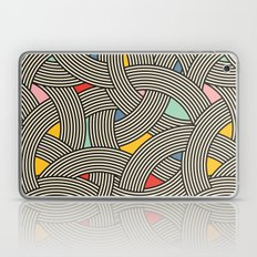 Modern Scandinavian Multi Colour Color Curve Graphic Laptop & iPad Skin