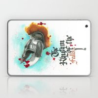 The rhythm of the falls Laptop & iPad Skin