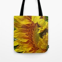 Inside the Sunflower Tote Bag