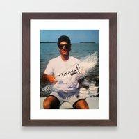 Totally Brah Framed Art Print