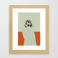 Woman Color 10 Framed Art Print
