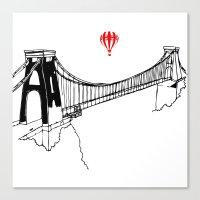 Clifton Bridge   Canvas Print