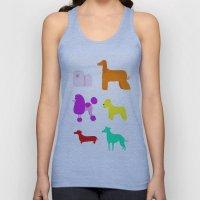 The Rainbow Dogs II Unisex Tank Top