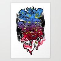 B E A S T S Art Print