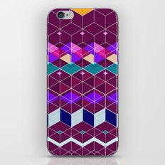 Cube Geometric IX iPhone & iPod Skin