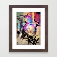 Street Queen Framed Art Print