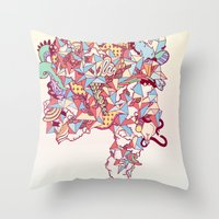 Thick Lucidity Throw Pillow