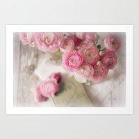 Ranunculus Love Art Print