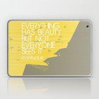 Confucius Quote Laptop & iPad Skin