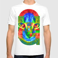 OMG-Sir Parker Mens Fitted Tee White SMALL