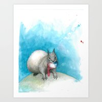 Just This Last One Befor… Art Print