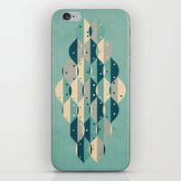 50's floral pattern IV iPhone & iPod Skin