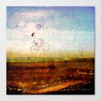 Prendre L'air Canvas Print