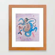 Deep Sea Debauchery Framed Art Print