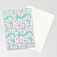 Hayden - abstract trendy gender neutral colorful bright happy dorm college decor pattern print art Stationery Cards