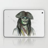 Captain Jack Zombie Laptop & iPad Skin