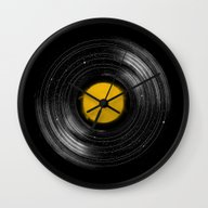 Wall Clock featuring Sound System by Speakerine / Florent…