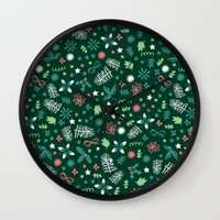 Have A Holly Jolly Chris… Wall Clock