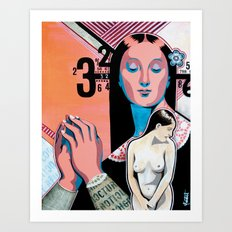 Fantasme Numérique Art Print