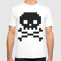 Skullkid Mens Fitted Tee White SMALL