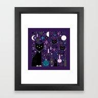 Halloween Kittens  Framed Art Print