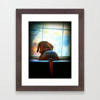 How Much Is That Doggie In The Window? Framed Art Print