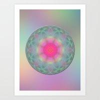 Mandala of Eternal Youth Art Print