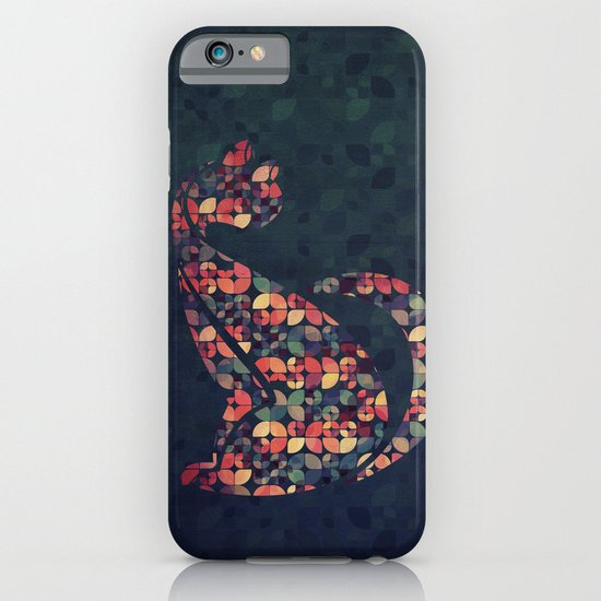 The Pattern Cat iPhone & iPod Case