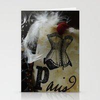 Paris Cabaret Stationery Cards