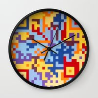 Number Three Multicolour Series  Wall Clock