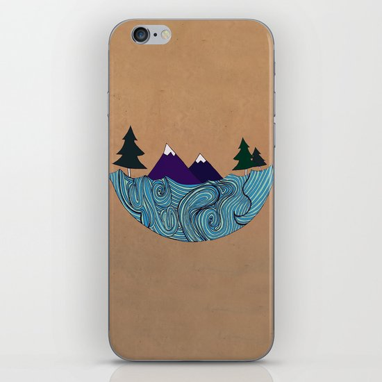 Pacific NorthFresh iPhone & iPod Skin