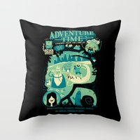 Legends From The Land Of… Throw Pillow