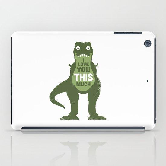 Amourosaurus iPad Case