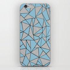 Ab Blocks Blue #2 iPhone & iPod Skin