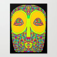 The Fractal Spirit Guide Canvas Print