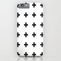 Watercolor Swiss Cross (White) iPhone 6 Slim Case