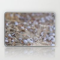 Begin Here. Laptop & iPad Skin
