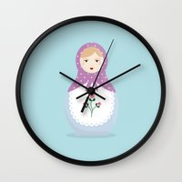 MATRYOSHKAS SERIES - NINA Wall Clock